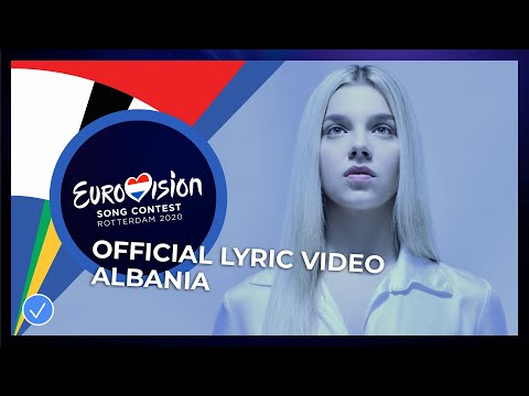 Arilena Ara - Fall From The Sky - Albania 🇦🇱 - Official Lyric Video - Eurovision 2020