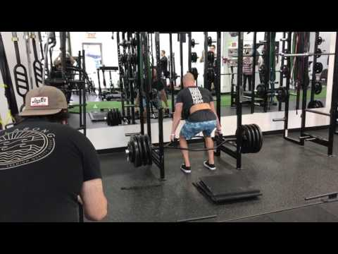 Trap Bar Rack Pull