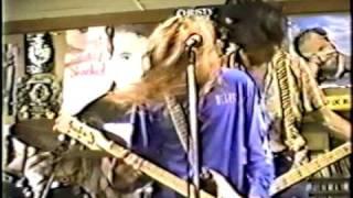 Nirvana - Rhino Records Los Angeles 1989 - Dive