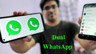 How TO INSTALL 2 WhatsApp in 1 ANDROID | Dual Messenger