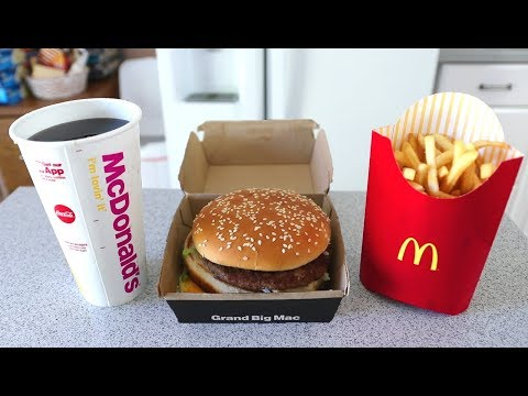 Download The FASTEST Grand Mac Meal Ever Eaten (under 1 Minute!!) HD Mp4 3GP Video and MP3
