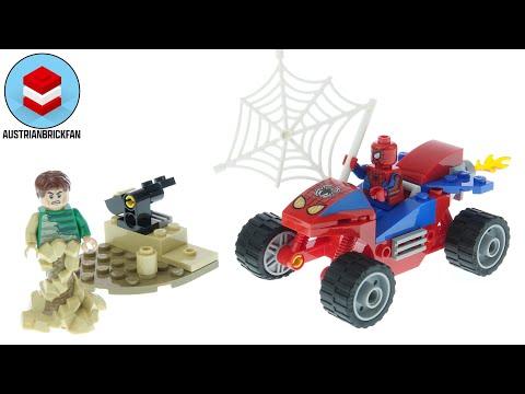 Vidéo LEGO Marvel 76172 : Le combat de Spider-Man et Sandman
