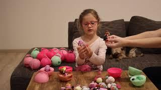 LOL panenky česky cz, mini panenky, oblékání, vyměňování oblečků, koule plná překvapení
