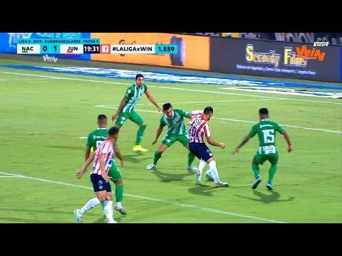 Nacional vs Junior (2-2) Liga Aguila 2019-II   Cuadrangulares fecha 3