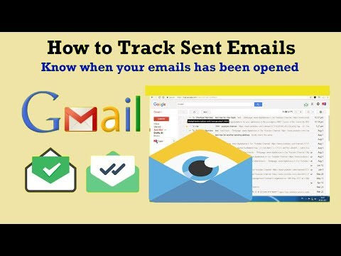 How to Track Sent Emails - Know when your Sent Email has been opened using Google Chrome 2018 method