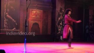 Pandit Jai Kishan Maharaj, Kathak performance