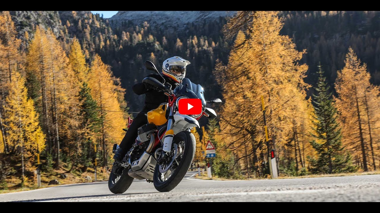 VIDEO: Moto Guzzi V85 TT