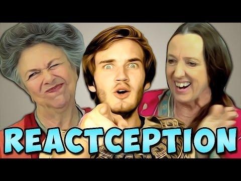 PewDiePie Reacts To: Elders React To: PewDiePie... | PewDiePie