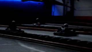 preview picture of video 'Indoor Kartbahn B68 Bielefeld / Zeitfahren 1/2'