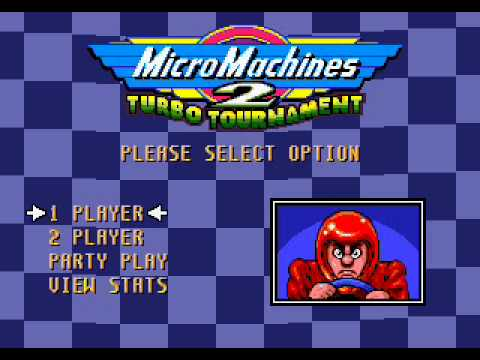 Micro Machines 2 music - Title Theme