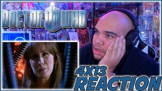 GOODBYE THE DOCTOR DONNA! | Doctor Who 4x13 REACTION | Season 4 Episode 13