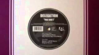 Delegation - You and I (funk disco groove)