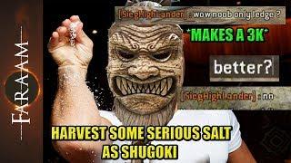 Harvest a serious amount of Salt as Shugoki [For Honor] - dooclip.me