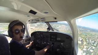 Landing in Scottsdale (KSDL)