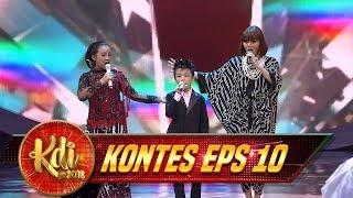 Indahnya Lantunan Niken,Affan & Rina Nose [Anoman Obong] - Kontes KDI Eps 10 (17/8)