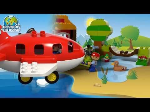 Vidéo LEGO Duplo 10805 : Le tour du monde