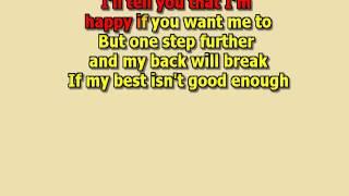 Everything she wants unplugged George Michael  best karaoke instrumental lyrics
