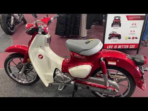 2020 Honda Super Cub C125 ABS in Belle Plaine, Minnesota - Video 1