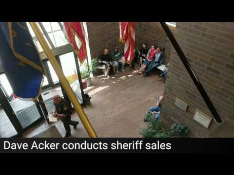 Download A look at a sheriff's sale Mp4 HD Video and MP3