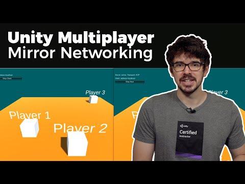 Multiplayer Anwendung in Unity erstellen - Mirror Networking