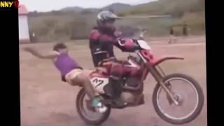 Смотреть онлайн Подборка: Неудачи с мотоциклистами