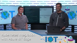 Kubernetes integration with Azure IoT Edge