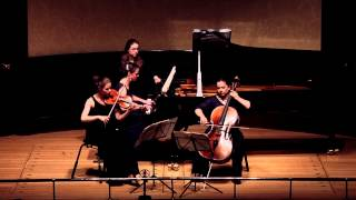 Lawson Trio: Haydn Trio in Eb Major (1st Movement)