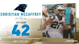 #42: Christian McCafferey (RB, Panthers) | Top 100 Players of 2019 | NFL