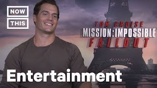 Henry Cavill Takes Our 'Mission: Impossible' Mustache Quiz | NowThis