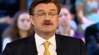2010.05.07. Большая политика. Никита Михалков. | часть 1 из 6