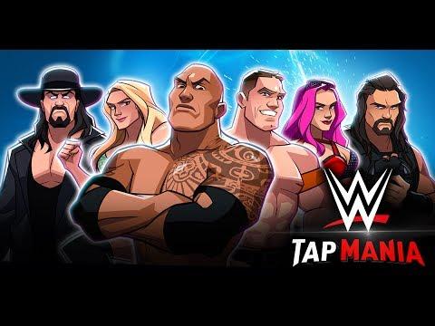 WWE Tap Mania wideo