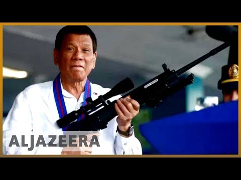 🇵🇭 Philippines' Duterte vows to continue 'chilling' war on drugs   Al Jazeera English
