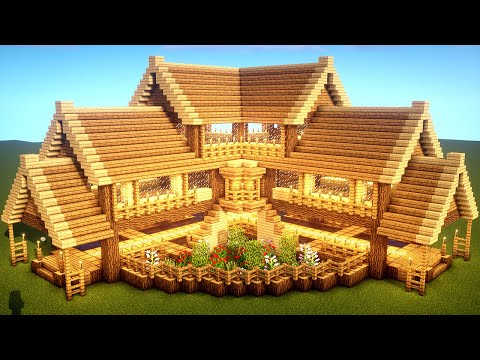 How To Build A Survival House In Minecraft Minecraft Map