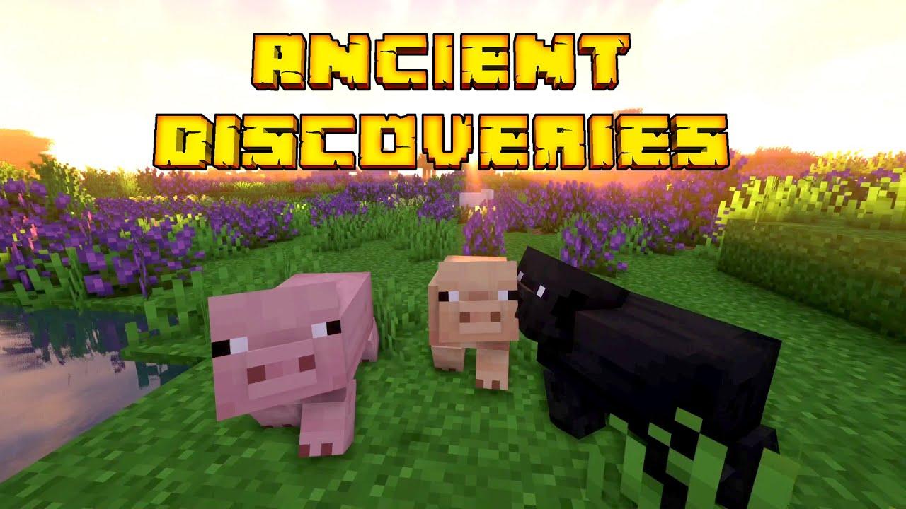 Minecraft Ancient Discoveries 07 | Kleines süßes Schweinchen | Gameplay Deutsch thumbnail