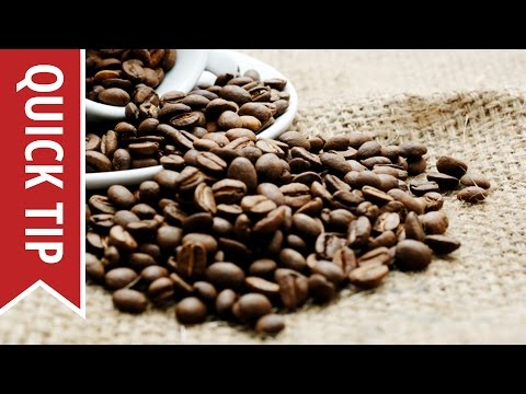 Quick Tips: Making Better Tasting Coffee