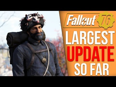 Fallout 76 Just Got it's Biggest Update Ever