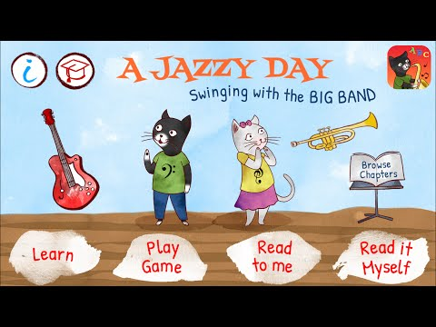 A Jazzy Day – Music Education Book for Kids – iOS app