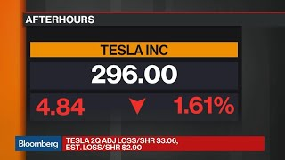 Breaking Down Tesla's Wider-Than-Expected Loss