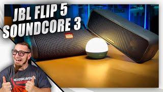 Soundcore 3 und JBL Flip 5 im Vergleich! - Welcher klingt besser? - Test