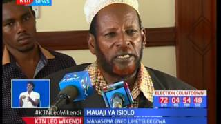 Viongozi wa Isiolo na gavana Abdul Bahari wataka Rais Uhuru Kenyatta avute waziri Joseph Nkaissery
