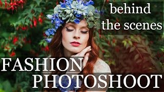 FASHION PHOTOGRAPHY | Behind The Scenes Natural Light 35mm Portraits