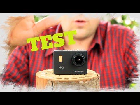 "🔴APEMAN Action Kamera WIFI 4K  TEST REVIEW  "" alternative zur GoPro"""