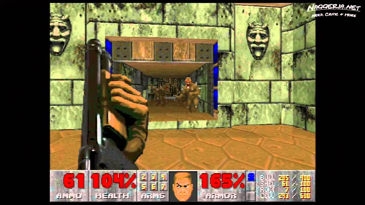 "Doom (E3M4 ""House of Pain"") Walkthrough – Ultra-Violence"