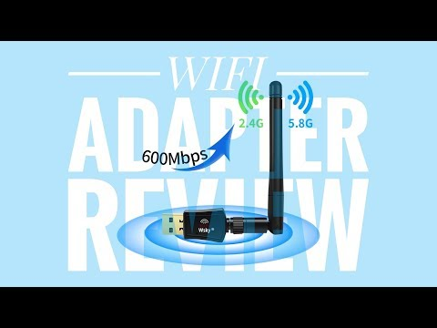 Wsky Wireless USB WiFi Adapter ► WiFi Adapter Review ◄ USB WiFi Network Dongle Adapter