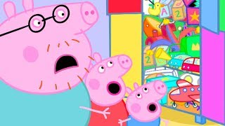 Peppa Pig Official Channel 🐻 Peppa Pigs New Toy Cupboard 🐻