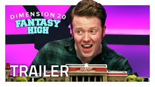 FANTASY HIGH: D&D Meets High School [Official Trailer]