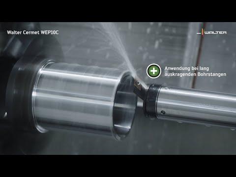 CERMET WEP10C GEOMETRIE FP2 - Beste Qualität und Standzeit bei instabilen Bedingungen.