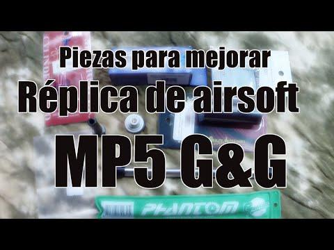 Piezas de mejora de réplica de airsoft MP5 G&G - Camuchu airsoft