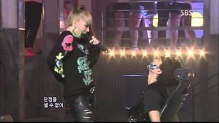 [SBS인기가요] 투애니원 - Hate You 20110821