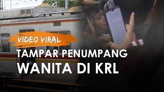 Viral Pria di KRL Tampar Penumpang Wanita, Korban Ceritakan Kronologi Kejadian